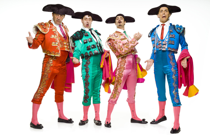 Yllana – spanisches Comedytheater in denWühlmäusen