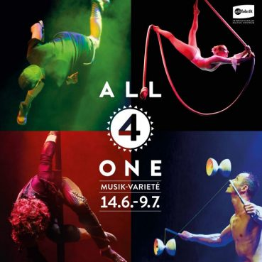 All 4 One – Sommervariéte – ufaFabrik Berlin