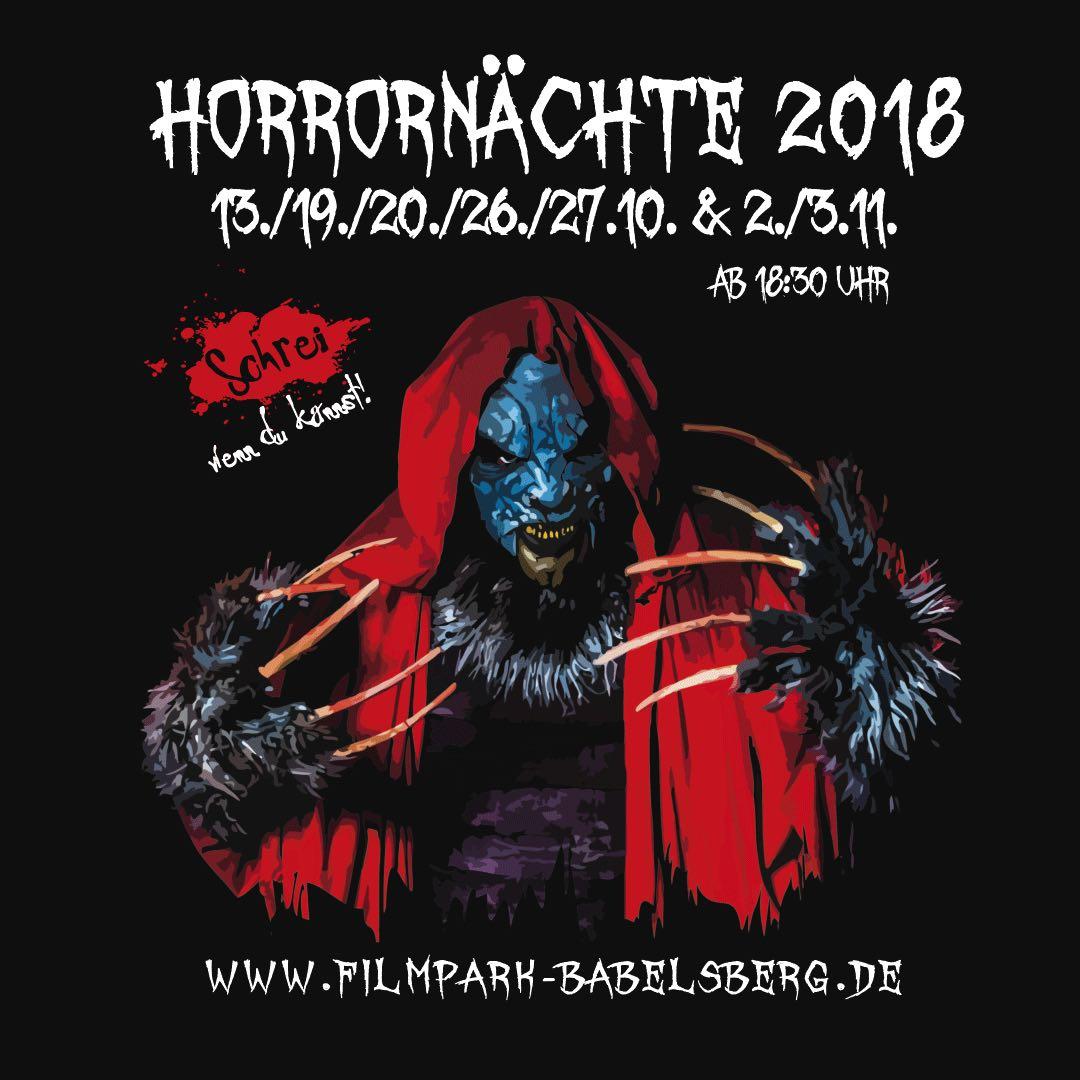 Horrornächte 2018 – Filmpark Babelsberg